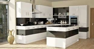 Perfect Modern Kitchen Colors In Gallery Bold Design Black And White Simple