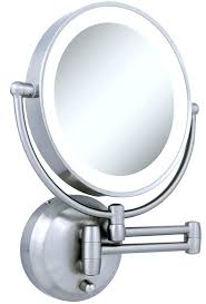 interesting mirror nameeks ar7702 by nameek s glimmer wall mounted square led 3x makeup pertaining to vanity mirror decorations 8 throughout lighted l