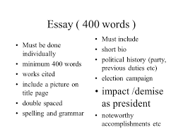 400 Words Essay Buy 400 Word Essay Example