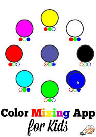 kids color pictures. Fine Color Kidsu0027 Color Mixing App In Kids Pictures L
