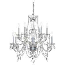 traditional crystal chandelier