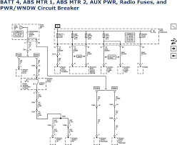 repair guides wiring systems 2006 power distribution batt 4 abs mtr 1 abs mtr 2 aux pwr radio fuses and pwr wndw circuit breaker 2006