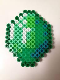 17 best images about minecraft perler beads minecraft emerald perler bead by nerdchristmas on 3 00