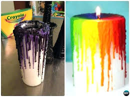 drip candle witch crayon drip candle craft projects with instruction drip candle covers chandeliers drip candle
