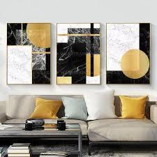 framed wall art set of 3 prints