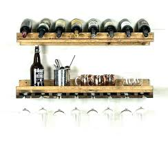 enjoy wall wine k with glass holder mounted