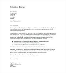 Letter Of Introduction Substitute Teacher Infoupdateorg Beauteous Letter Of Introduction Teacher