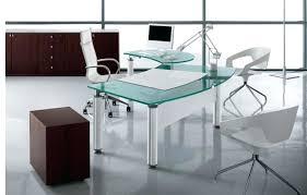 Modern glass office desk Clear Glass Modern Glass Office Desk Enchanting Modern Glass Office Desk Modern Glass Office Desk Furniture Info Modern Modern Glass Office Desk Omniwearhapticscom Modern Glass Office Desk Modern Glass Office Computer Desk
