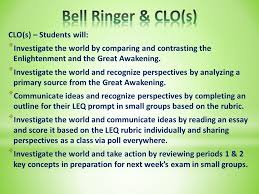 chapter agenda bell ringer leq prompt thesis writing  7
