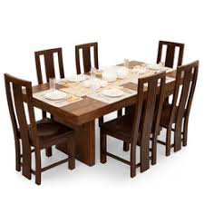 wooden dining room furniture. 6 Seater Dining Table Wooden Room Furniture