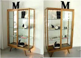 glass door cabinet double lock small wall kitchen