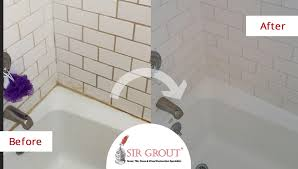 tile and grout cleaning and sealing the best solution for rust and dye stains in