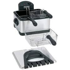 <b>stainless</b> steel housing Maxam 4qt <b>Electric Deep Fryer</b> 120V 1700 ...