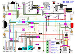 cb400f wiring diagram 4into1 com vintage honda motorcycle parts blog