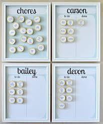 Magnetic Chore Chart 9 Charts To Track You Childrens