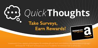 Rewards Quickthoughts Card Apps On - Gift Take Google Earn Play Surveys