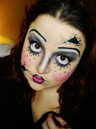 broken doll makeup tutorial google search