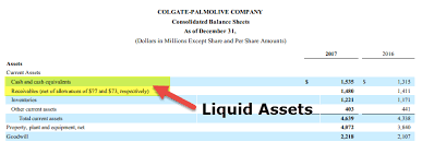 Business Net Worth Calculator Liquid Assets Meaning Examples Complete List Of Liquid