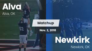 Football Game Recap: Newkirk vs. Alva - MaxPreps