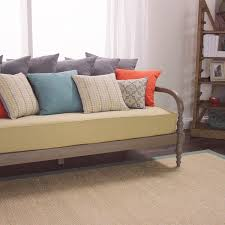 burlap furniture. Nice And Cozy Daybed Mattress Cover For Your Furniture Decor Idea: Oatmeal Burlap A