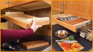 Astonishing Ideas Under Cabinet Drawers Easy DIY Kitchen Storage