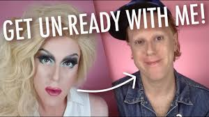 drag makeup removal routine