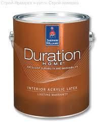 <b>Sherwin Williams Duration Home Краска</b> акриловая тиксотропная ...