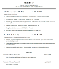 Vets Resume Builder A Good Resume Example