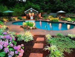 pool landscape design pictures landscape pool ideas photos backyard pool ideas outdoor lighting including pool