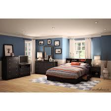 Bookcase Bedroom Furniture South Shore Vito Full Queen Bookcase Headboard 54 60 Multiple