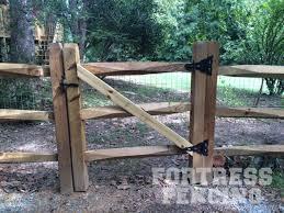 split rail wood fence gate. Split Rail Gate Wood Fence