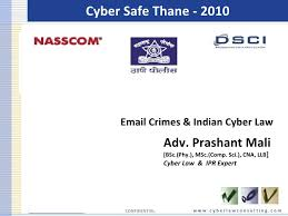 Safe Crimes And It 2010 Cyber Law-nasscom Email
