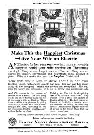 EV as Christmas gift to wife 100 years ago : electricvehicles