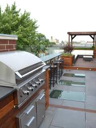 Outdoor Kitchen Countertops Pictures  Ideas From HGTV HGTV - Outdoor kitchen countertop ideas