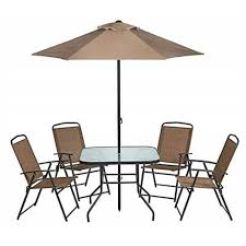 6piece folding patio set outdoor chairs