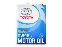<b>Моторное масло Toyota Motor Oil</b> SN 0W-16 (4L) 08880-12105 ...