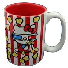 4.7 out of 5 stars 267. Universal Coffee Cup Hello Kitty Movie Popcorn