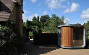 home office pod. Sustainable Design, Green Prefab Architecture, Building, Home Office Pod