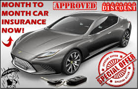 get the best one month car insurance now