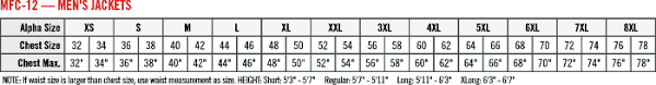 Lab Coat Size Conversion Chart Special Snap Front Lab Coat