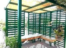 deck wood canopy outdoor backyard shade ideas awning plans patio retractable
