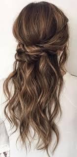 diy wedding hairstyle twisted crown braid half up half down Do It Yourself Wedding Hair Down halfway up hairstyle inspiration do it yourself wedding hair down
