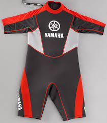Yamaha Shorty Wetsuit Red Personal Water Craft