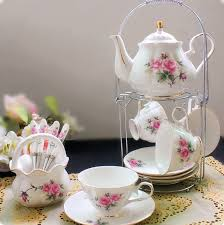 Decorative Cup And Saucer Holders
