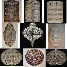 morrocan style lighting. Image Is Loading MOROCCAN-STYLE-METAL-PENDANT-CEILING-LIGHT-SHADES Morrocan Style Lighting E
