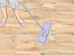 image led clean engineered hardwood floors step 3