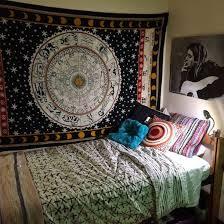 tapestry bedding boho mandala 4pc duvet cover set