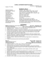 Skills For An Administrative Assistant Resume Resume Work Template