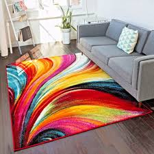 rugs area rugs carpet area rug floor large modern colorful abstract rugs new
