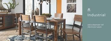 Industrial furniture table Industrial Design Industrial Furniture Decor Ashley Furniture Homestore Industrial Furniture Decor Ashley Furniture Homestore